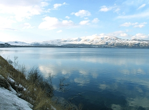Lake Sevan in Spring +