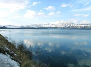 Lake Sevan in Spring +