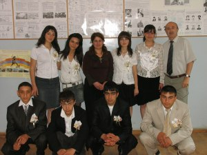 With Hintliyan School 2009 graduates res. +