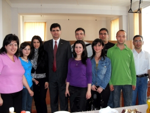 Yerekyan and GITC students
