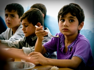 Beneficiaires Portraits, Lunchtime - Hrazdan Summer Camp