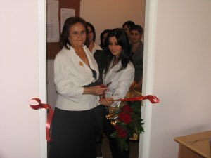 Opening of John Shukri Baran's auditorium