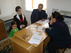 During CASP Syunik distribution
