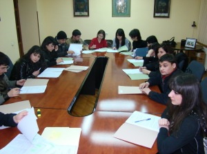 Meeting with 3rd&4th year students-2010(1).jpg