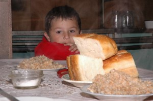 Nor Hajn Soup Kitchen's young beneficiary .jpg