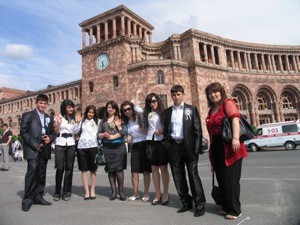 Last Bell Hintliyan School 2010 Graduates in Yerevan May 21.jpg