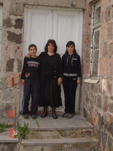 Yeghisabet  &  Karen  Dumanyans with their mother 5.jpg