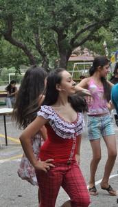 Lilit dancing