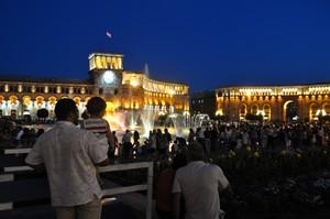 Yerevan Fountain Show