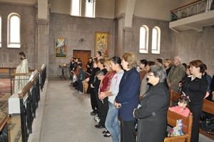 CASP_Father Shirak praying _ St. Mesrob Mashtots Church