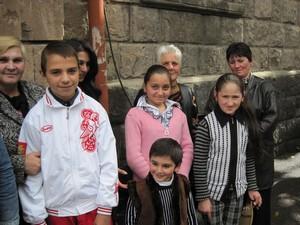 Khandjian beneficiaries at FAR Gyumri office