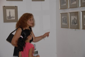 Levon's Exhibition's visitors