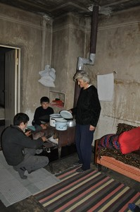 Sargsyans at home