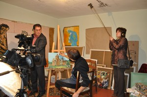 At Nefyodov's studio