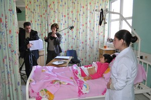 In Vanadzor hospital