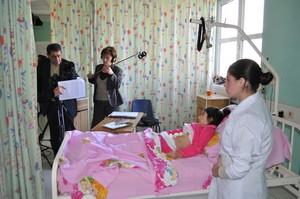 In Vanadzor hospital