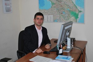Khemchyan Hayk  Mathevossian 2009 MA Graduate, Now Attashe of Armenian Foreighn Ministry