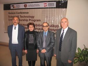 Armen Kuzanyan, Narine Vardanyan, Grigor Gyulkhandanyan and Armen Agajanyan