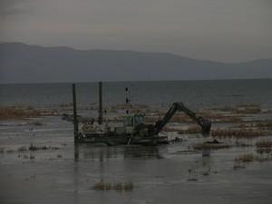 Cleaning of Sevan